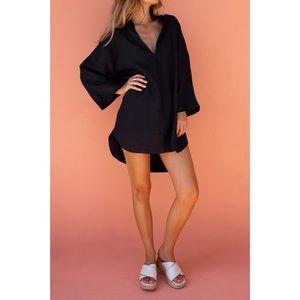 Posse Elsa Linen Tunic Black XS/S